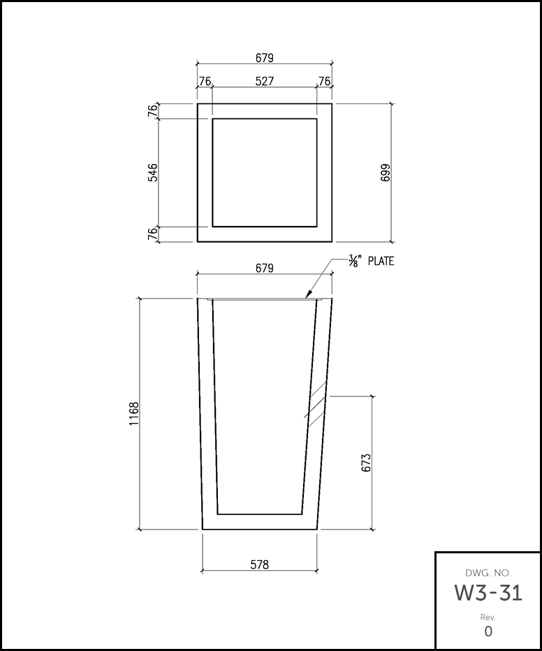 single garage sump schematic