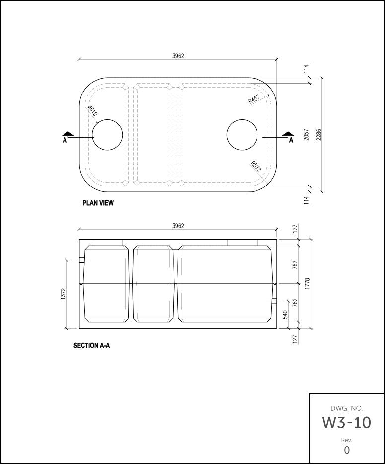 M 2500 Septic Tank Schematic