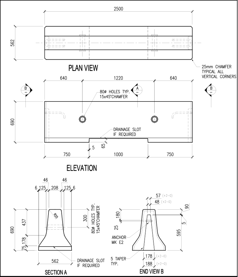 690-CRB-E Barrier schematic