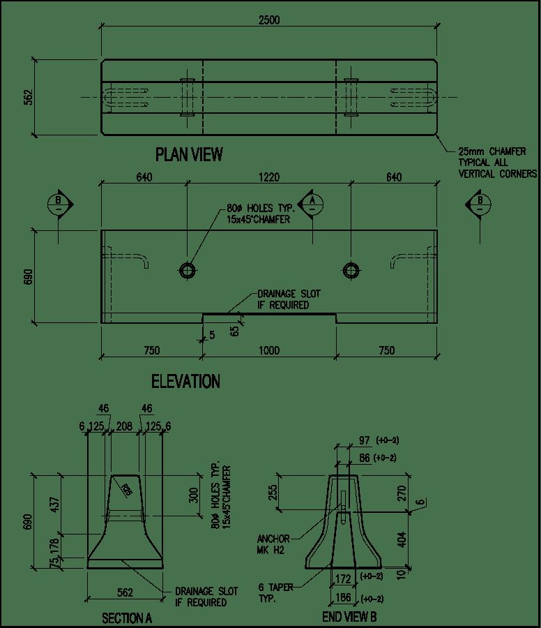 690-CRB-H barrier schematic