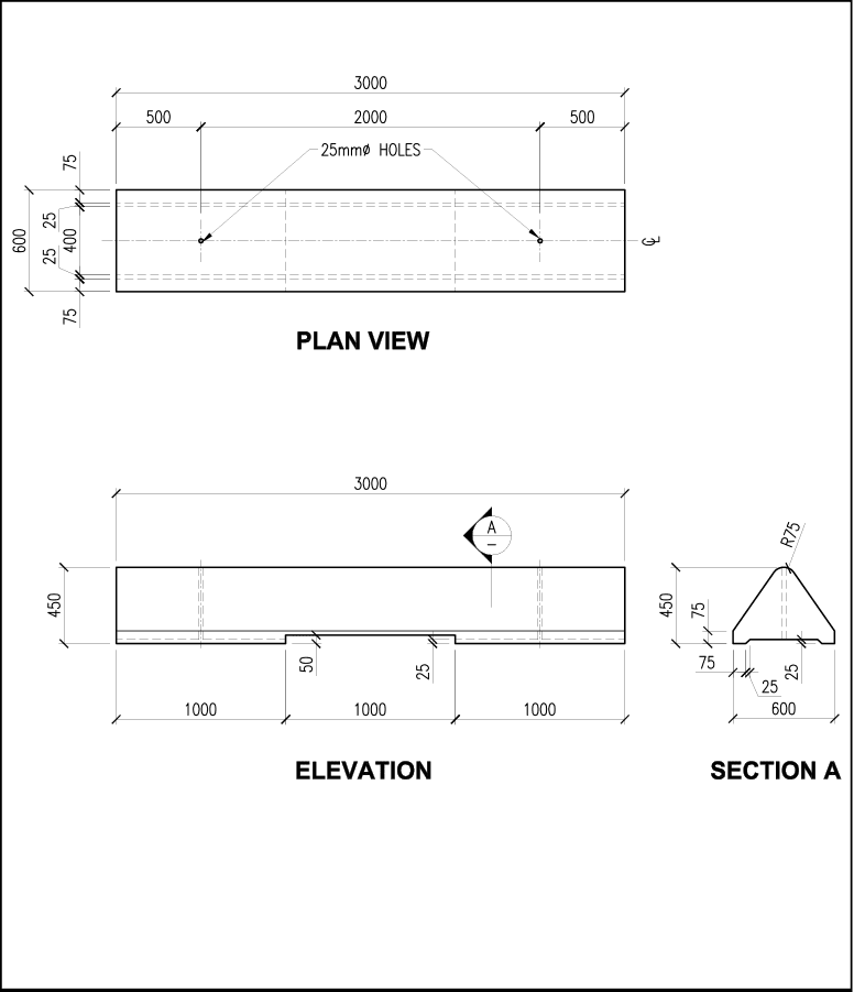 Low Profile Barrier schematic