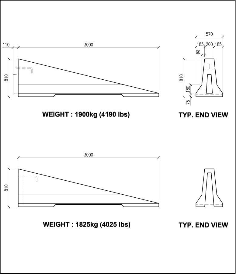 F-Style Transition barrier schematic